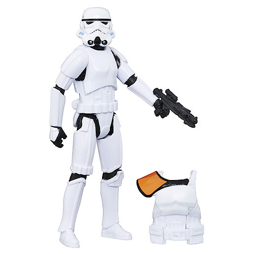 Star Wars Rogue One 9cm Figure with Accessory - Imperial Stormtrooper