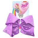 JoJo Siwa 20cm Signature Rhinestone Bow And Necklace Set - Purple