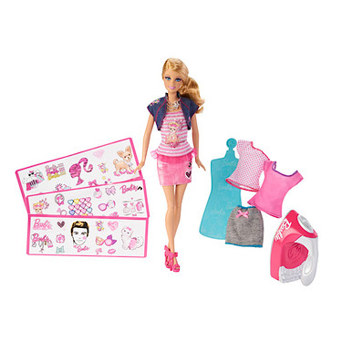 60%&lt;br /&gt;<br /> off Barbie Iron-on Style