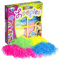Jacks Loopies Rainbow Bracelet Refill Pack - 4000 Loom Bands