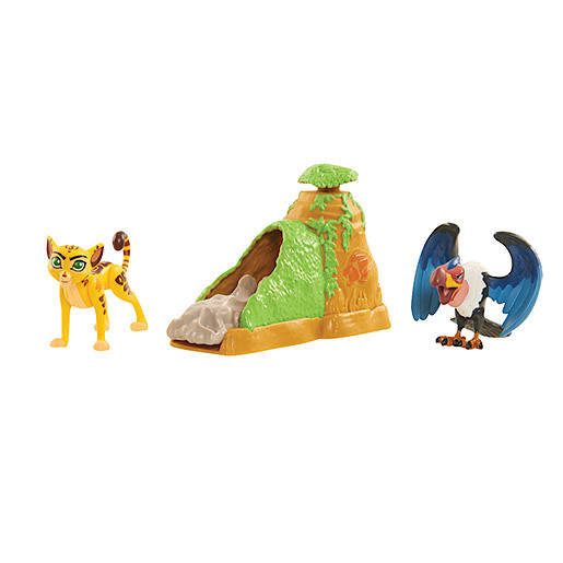 Image of Disney The Lion Guard Two Figure Battle Pack - Fuli & Mzingo