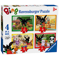 Ravensburger Bing 4 in a Box Puzzle - 12, 16, 20 and 24 Pieces