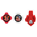 Power Ranger Ninja Steel 2 x Stars and Launcher - Red and Yellow