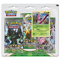Pokemon XY10 Fates Colide Triple Booster Pack - Vivillion