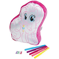 My Little Pony Colour Your Own Cushion - Pinkie Pie