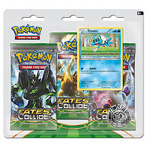 Pokemon XY10 Fates Colide Triple Booster Pack - Froakie