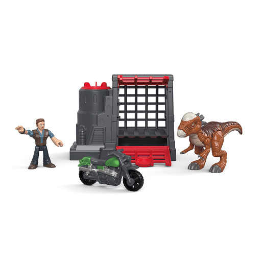 Imaginext Jurassic World Figure - Stygimoloch & Oven
