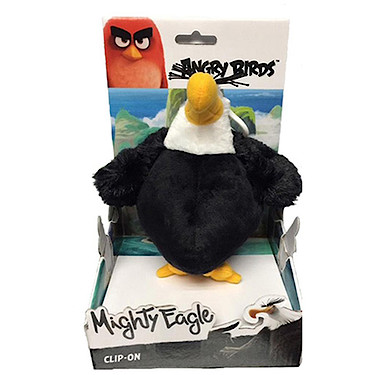 Angry Birds Movie Large Clip On Soft Toy Mighty Eagle The Entertainer The Entertainer