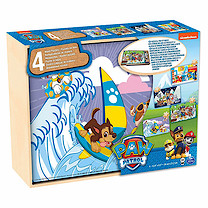 Paw Patrol Wooden Puzzle 4 Pack