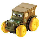 Disney Pixar Cars Hydro Wheels Sarge Vehicle