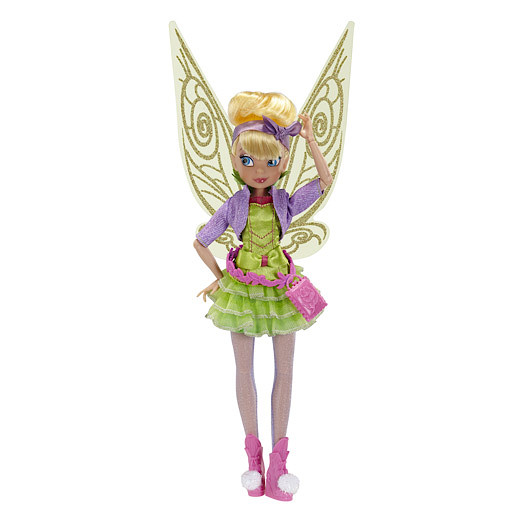 Disney Fairies Deluxe Fashion 23cm Doll - Stylin' Tink