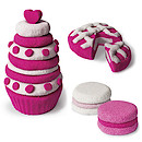 Kinetic Sand Build 2 Colour Pack - Pink and White