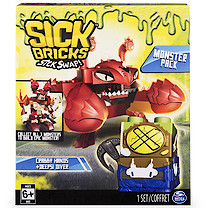 Sick Bricks Monsters Pack - Crabby Hands and Deepsi Diver