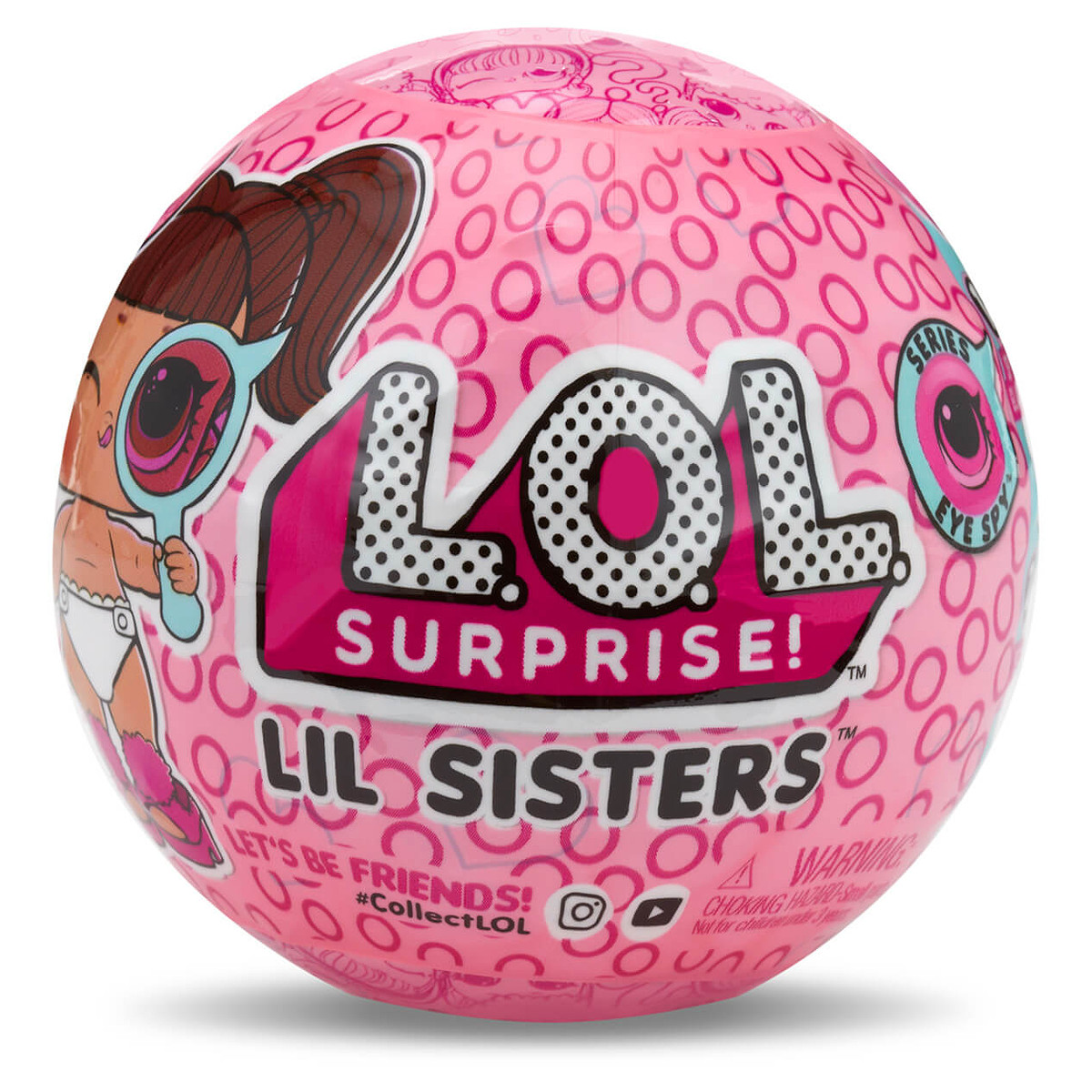 LOL SURPRISE Wave 1 LIL SISTERS EYE SPY Authentic SEALED Series 4 1 DOLLS