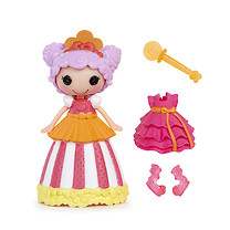 Mini Lalaloopsy Doll- Princess Peanut