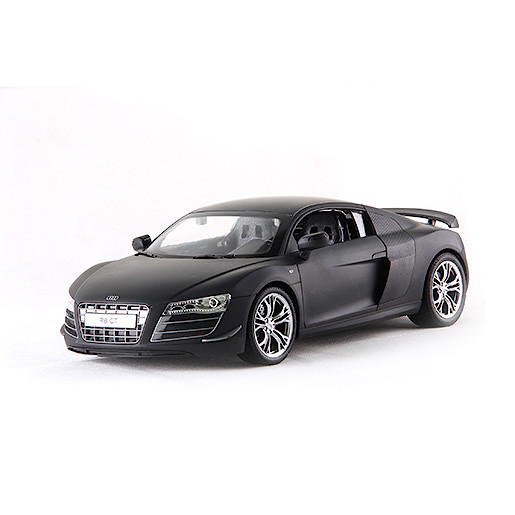 114 Remote Control Car  Black Audi R8 GT