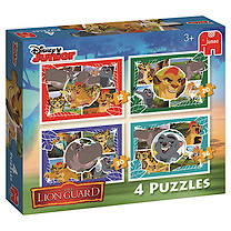 Disney The Lion Guard 4 in a Box Puzzles