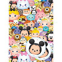 Disney Tsum Tsum 2 Wrapping Paper Sheets & 2 Gift Tags Pack