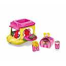 Zuru Hamsters in a House Food Frenzy Picnic Basket Buggie - Red