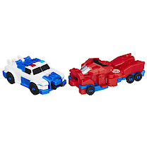 Transformers: Robots in Disguise Combiner Force Crash Combiners - Strongarm and Optimus Prime