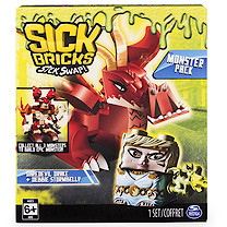 Sick Bricks Monsters Pack - Daredevil Drake and Debbie Stormbelly