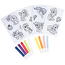 My Little Pony Gel Stickers