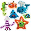 Bunchems Glow in the Dark - Under the Sea Pack