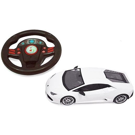 Image of 1:24 Remote Control Lamborghini - White