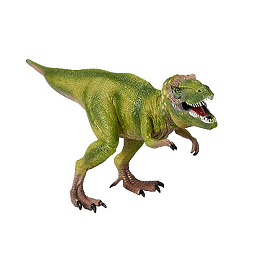 Awesome Animals Large Dinosaur Figurine - Tyrannosaurus Rex Green
