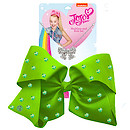 JoJo Siwa 20cm Signature Rhinestone Bow And Necklace Set - Green