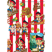 Jake and the Neverland Pirates 2 Sheet 2 Tag Pack