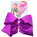 JoJo Siwa 20cm Signature Bow And Necklace Set -Purple