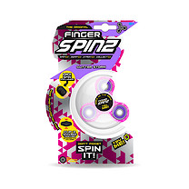 Finger Spinz Glitter Storm Toy with Accessories - Pink