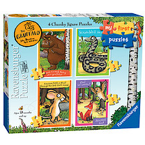 Ravensburger 4 in a Box Chunky Jigsaw Puzzles - The Gruffalo