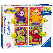 Ravensburger 4 in a Box Chunky Jigsaw Puzzles - Teletubbies