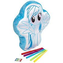 My Little Pony Colour Your Own Cushion - Rainbow Dash