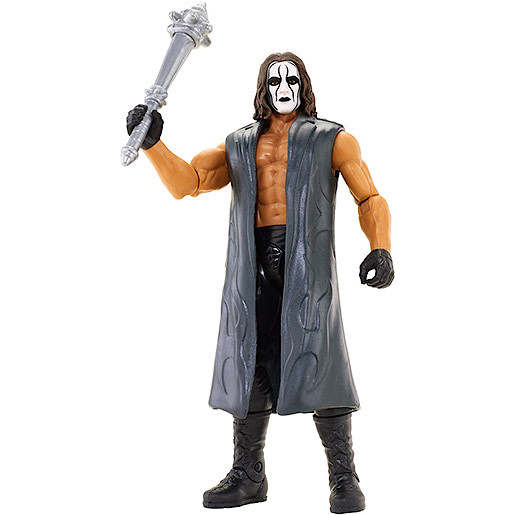 WWE Create-a-Superstar Sting Shadow Vigilante Figure