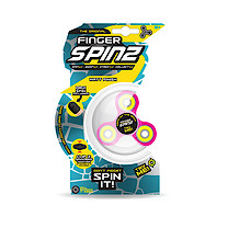 Finger Spinz Matt Finish Toy with Accessories - Pink