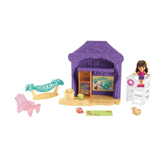 FisherPrice Dora & Friends Playa Verde Cabana Playset