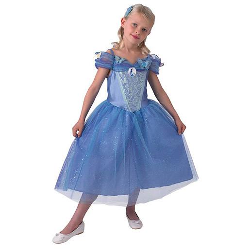 Cinderella Dress & HairBand - Medium (Age 5-6)