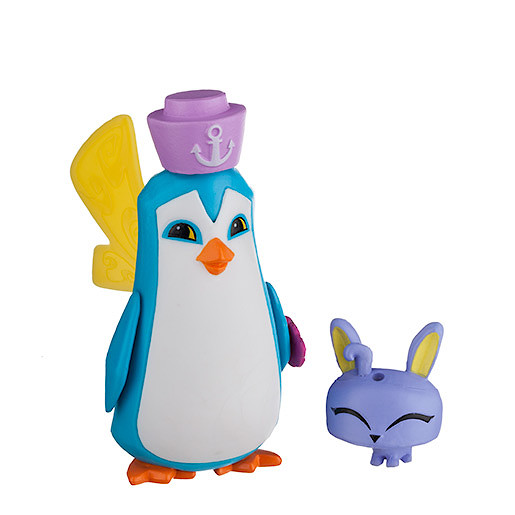 Animal Jam Sir Penguin Figure with Pet Bunny