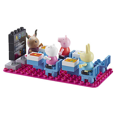 Peppa Pig Classroom Construction Set - The Entertainer - The ...