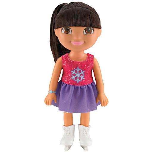 Image of Fisher-Price Dora & Friends Sparkling Skater Dora Doll