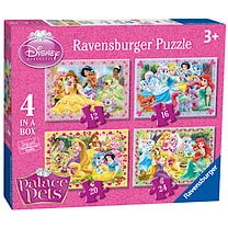 Ravensburger Disney Princess Palace Pets 4 In a Box Puzzles