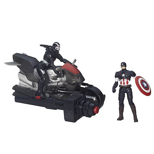 Image of Marvel Avengers Age of Ultron Captain America and Marvel's War Machine