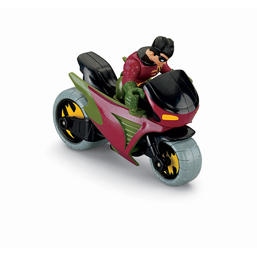 Fisher-Price Imaginext DC Super Friends - Robin & Cycle