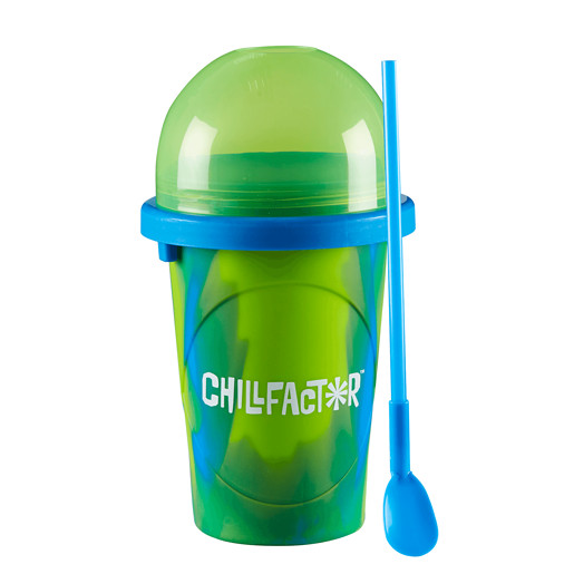 Chillfactor Splash Slushy Maker - Geen and Blue