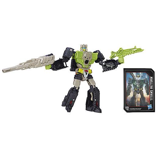 Transformers Generations Deluxe Titan Master Furos & Hardhead Figure
