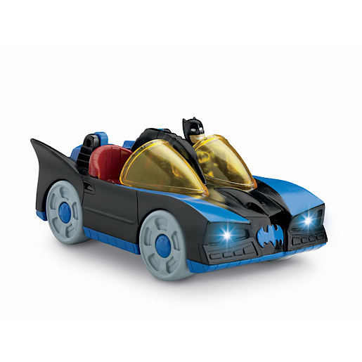 Fisher-Price Imaginext DC Super Friends - Batmobile with Lights