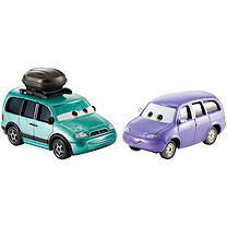 Disney Pixar Cars 3 Minny and Van